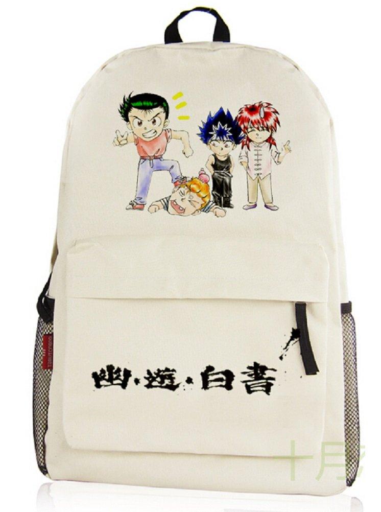 YOYOSHome ® Yu Yu Hakushoアニメコスプレリュックサックバックパックスクールバッグ   B015E6W408