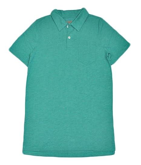 06f070319 Amazon.com: Cat & Jack BigBoys Heathered Polo Shirt (Green, XX Large):  Clothing