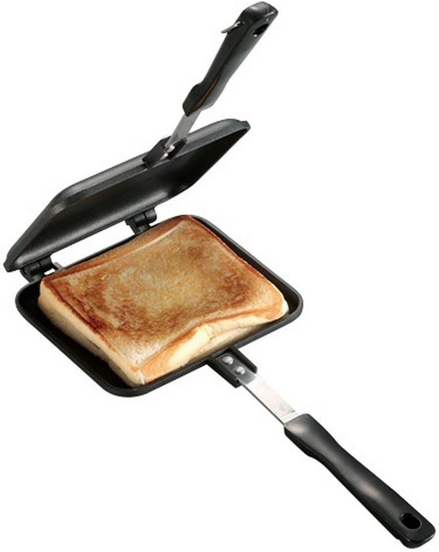 キャプテンスタッグ BBQ用 アルミホットサンドトースター