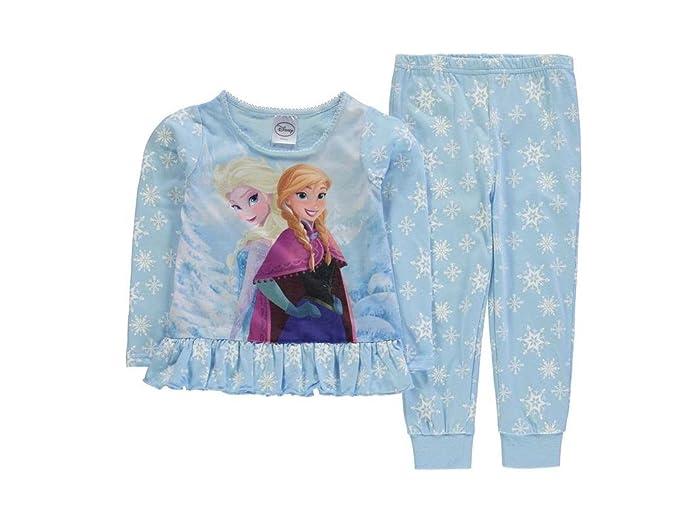 Frozen - Pijama - para niña azul claro 158 cm-Ca. 13 Años : Amazon.es: Ropa y accesorios