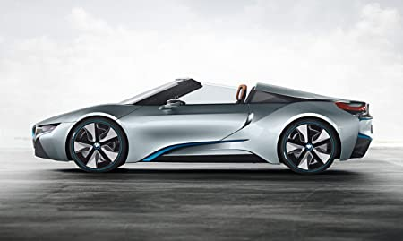 Classic And Muscle Car Ads And Car Art Bmw I8 Spyder Concept 2012