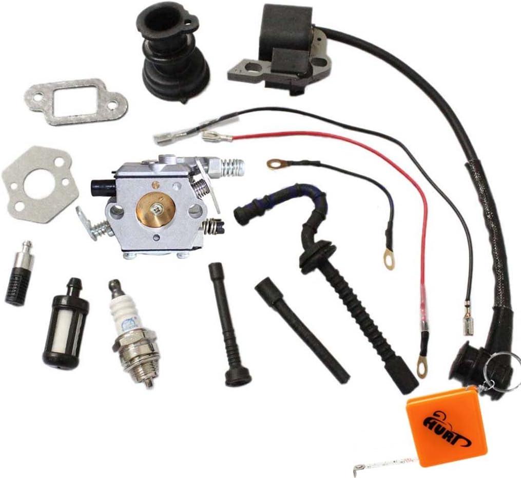 bobina di accensione candela di accensione per STIHL 021/023/025/MS210/MS230/MS250 collettore di aspirazione Huri carburatore