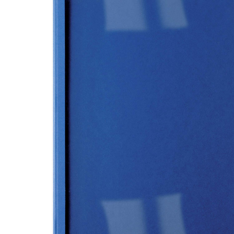 3mm A4 100 St/ück GBC LeatherGrain Thermo-Bindemappen k/önigsblau