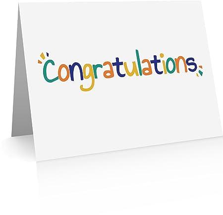 congratulations cards bulk congrats cards with envelopes amazon