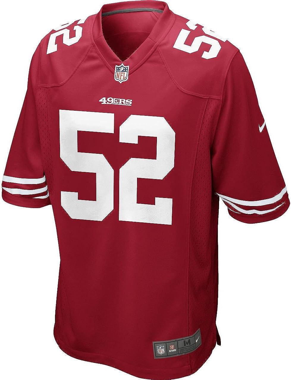 Amazon.com : Nike Men's Patrick Willis San Francisco 49ers Game ...