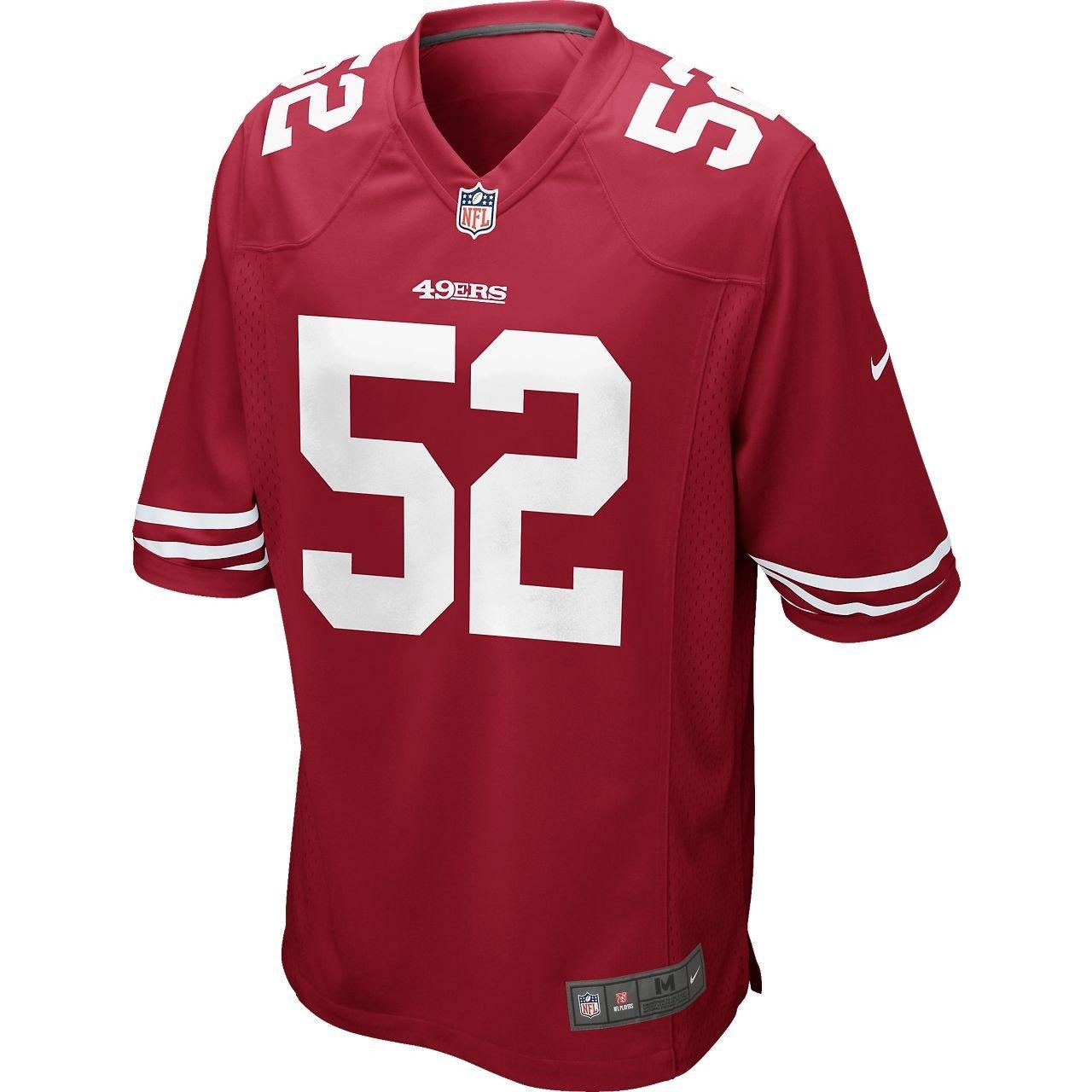 4b8916eba Nike Men s Patrick Willis San Francisco 49ers Game Jersey  Amazon.ca   Sports   Outdoors