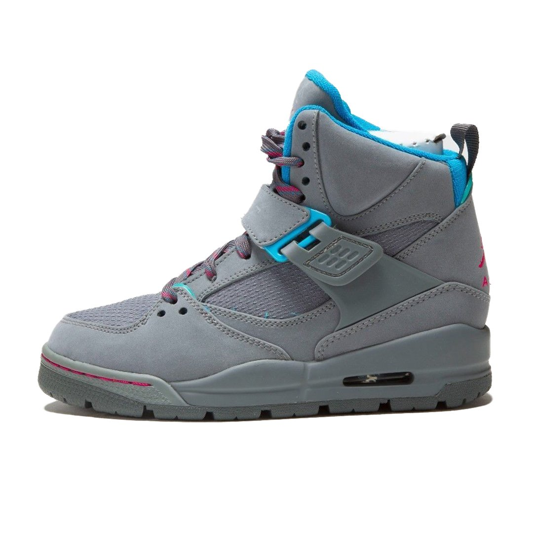 Jordan Big Kid Girls Flight 45 TRK GS Sneakers 467956 SZ 3.5Y Cool Grey