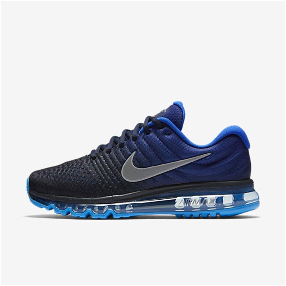 (ナイキ) エア マックス 2017 メンズ ランニング シューズ Nike Air Max 2017 849559-400 [並行輸入品] B074F12D92 25.5 cm  Dark Obsidian/White/Royal Blue