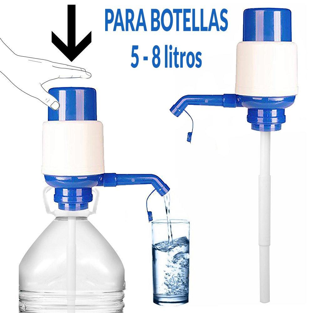 Dispenser distributore pompa acqua universale bottiglia caraffa Tanica 5L, 8L, 10L, 2.5L anti-goteo, adattabile, manuale Camping, Scuola, Ufficio, Casa marchio regalitostv