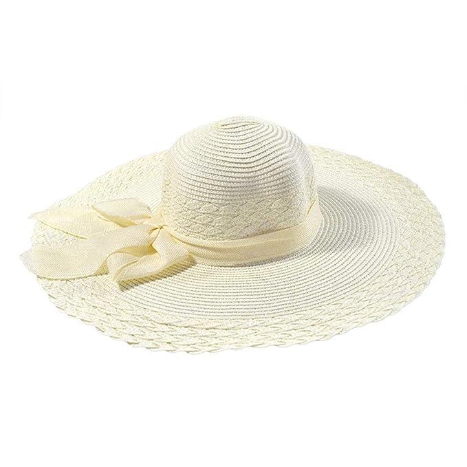 Gorros Gorro Ancho para El Mujer Sombrero para Sol Modernas Casual Sombrero De Playa De Ocio Sombrero Gorra Protección De Verano Protector Solar Sombrero De ...
