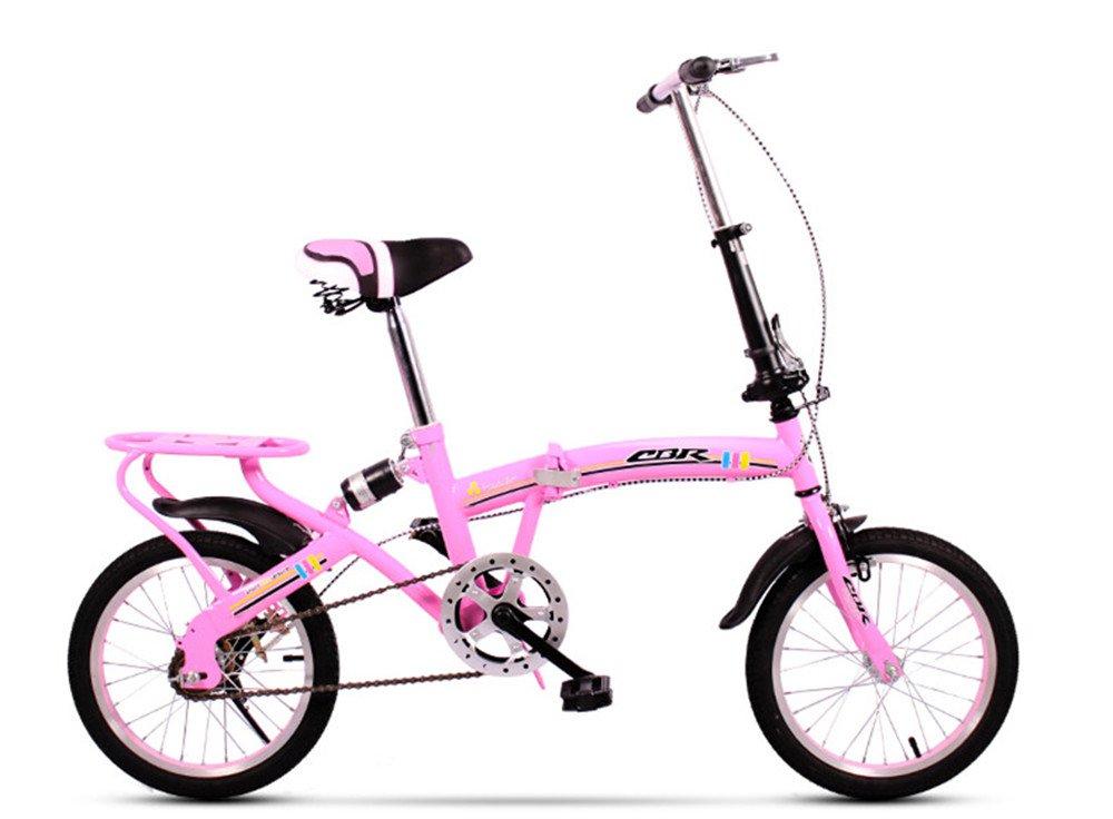 折りたたみ自転車 折り畳み 16インチ 20インチ 変速自転車 単速  変速 通勤 通学 小型 小径 簡単収納 B07BTYD48V 16インチ単速|A A 16インチ単速