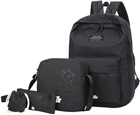 Le nouveau double-retour Femelle sac tendance Lady Sac à dos avec sac d/'épaule