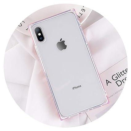 Amazon.com: Carcasa para iPhone X 6S 6 7 8 Plus, color ...