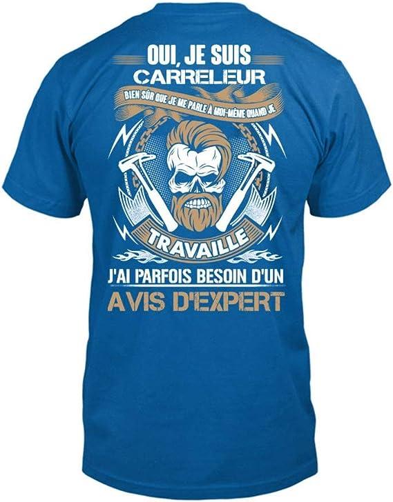 Je suis CARRELEUR!!!*** Homme teezily T-Shirt ***Oui