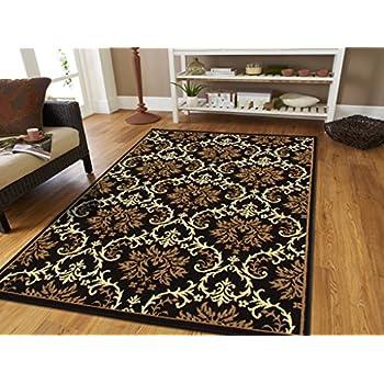 Amazon Com Brown Checkered Cheetah Rug Animal Print