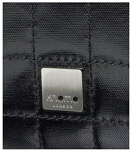 Knomo TOK001 Sac bandouli/ère pour Ordinateur Portable 15 Noir Brillant