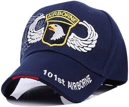 YPORE Moda Gorras De Béisbol 101 Airborne Division Cap Tactical ...