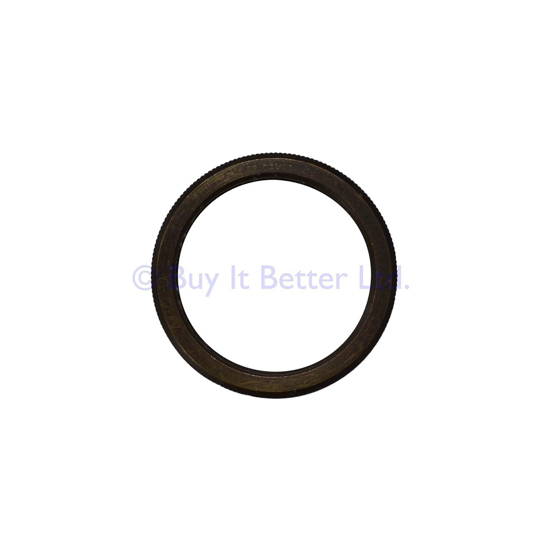 ElekTek E27 Lamp Holder Extra Shade Ring Single Nickel Chrome