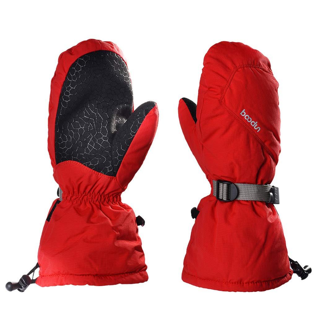 Men Women Ski Gloves Waterproof Outdoor Warm Windproof Anti-Slip Winter Sports Ltd