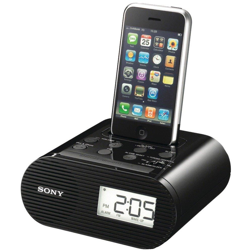 Sony ICF-C05iPBLK Reloj Digital Negro - Radio (Reloj, Digital, AM,FM, 87,5-108 MHz, 0,8 W, 10%): Amazon.es: Electrónica