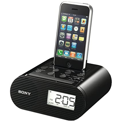 Sony ipod speaker dock clock radio