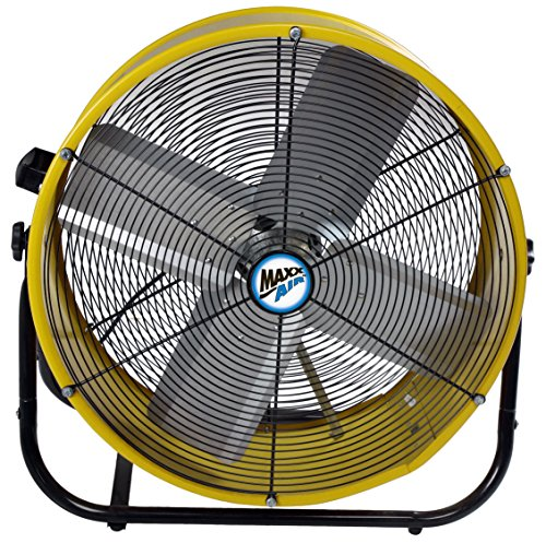 Shop Floor Fan High Velocity Industrial Portable Heavy ...