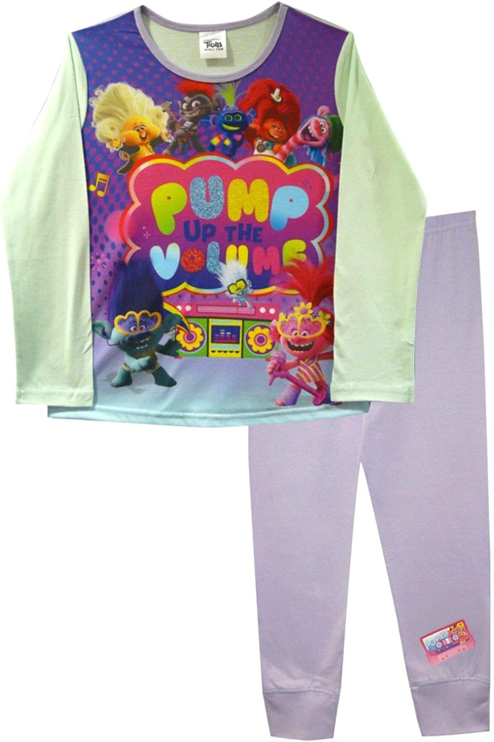 Trolls Pump up The Volume Pijama de ni/ña