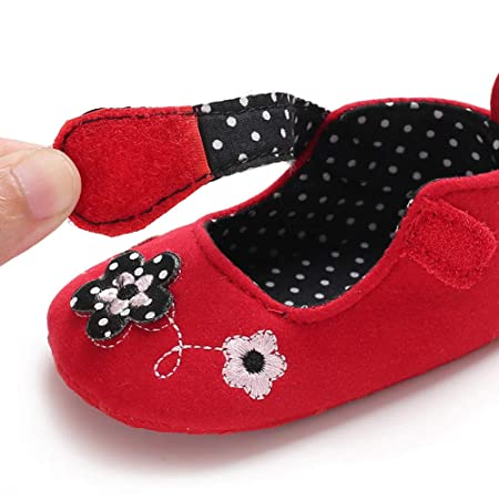 Amazon.com: NUWFOR Infant Newborn Baby Girls Soft Sole ...