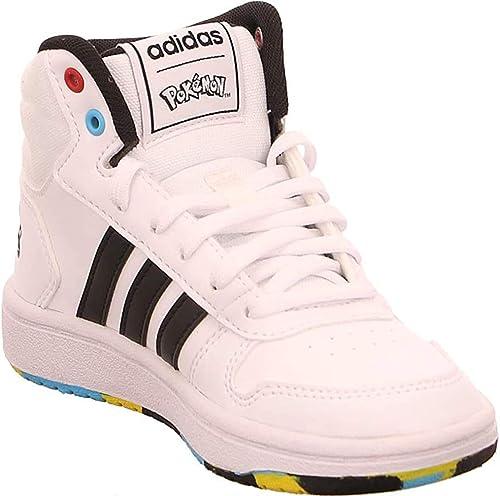adidas Hoops Mid 2.0 K, Chaussure de Piste d'athlétisme
