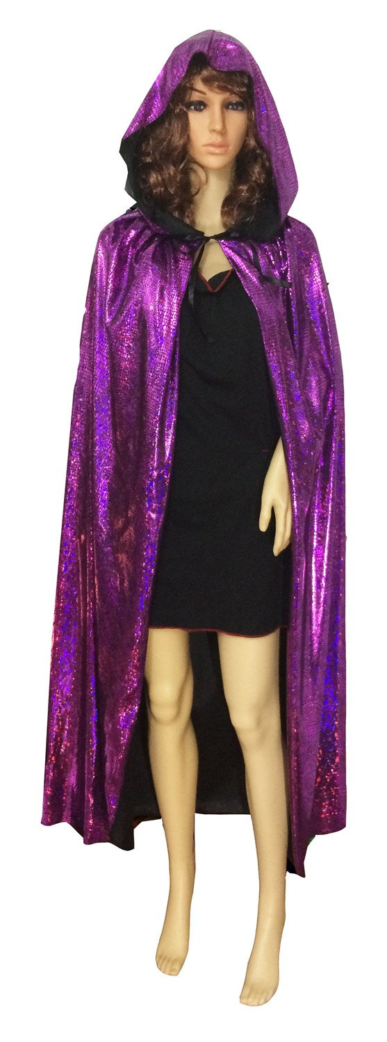 Unisex-adult Halloween Costumes Wizard Cloak God of Death Cape Witches Robes Cos