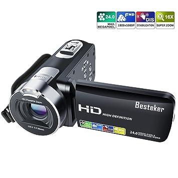 Amazon | ビデオカメラ Besteker...