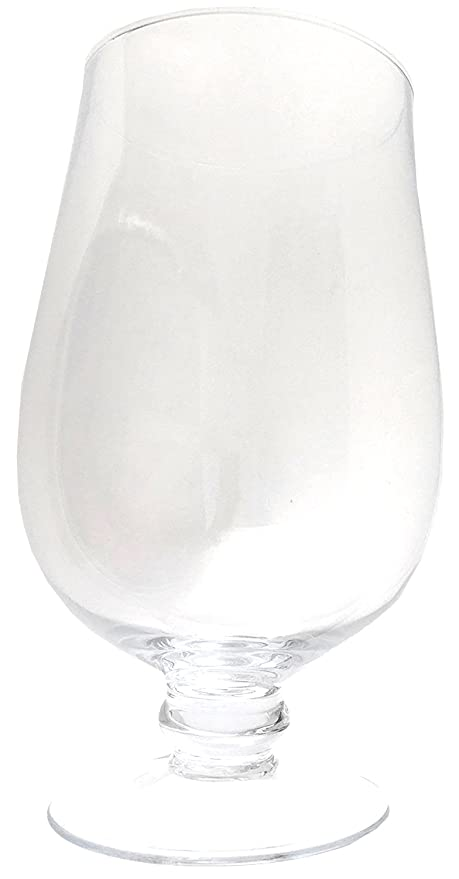 Buy Biedermann Sons Mouthblown Crystal Glass Hurricane Vase Candle