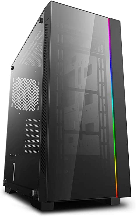 DeepCool ATX Mid Tower 3pcs Add-RGB Cooling Fan pre-Install//Support E-ATX MB Cases MATREXX 55 ADD-RGB 3F