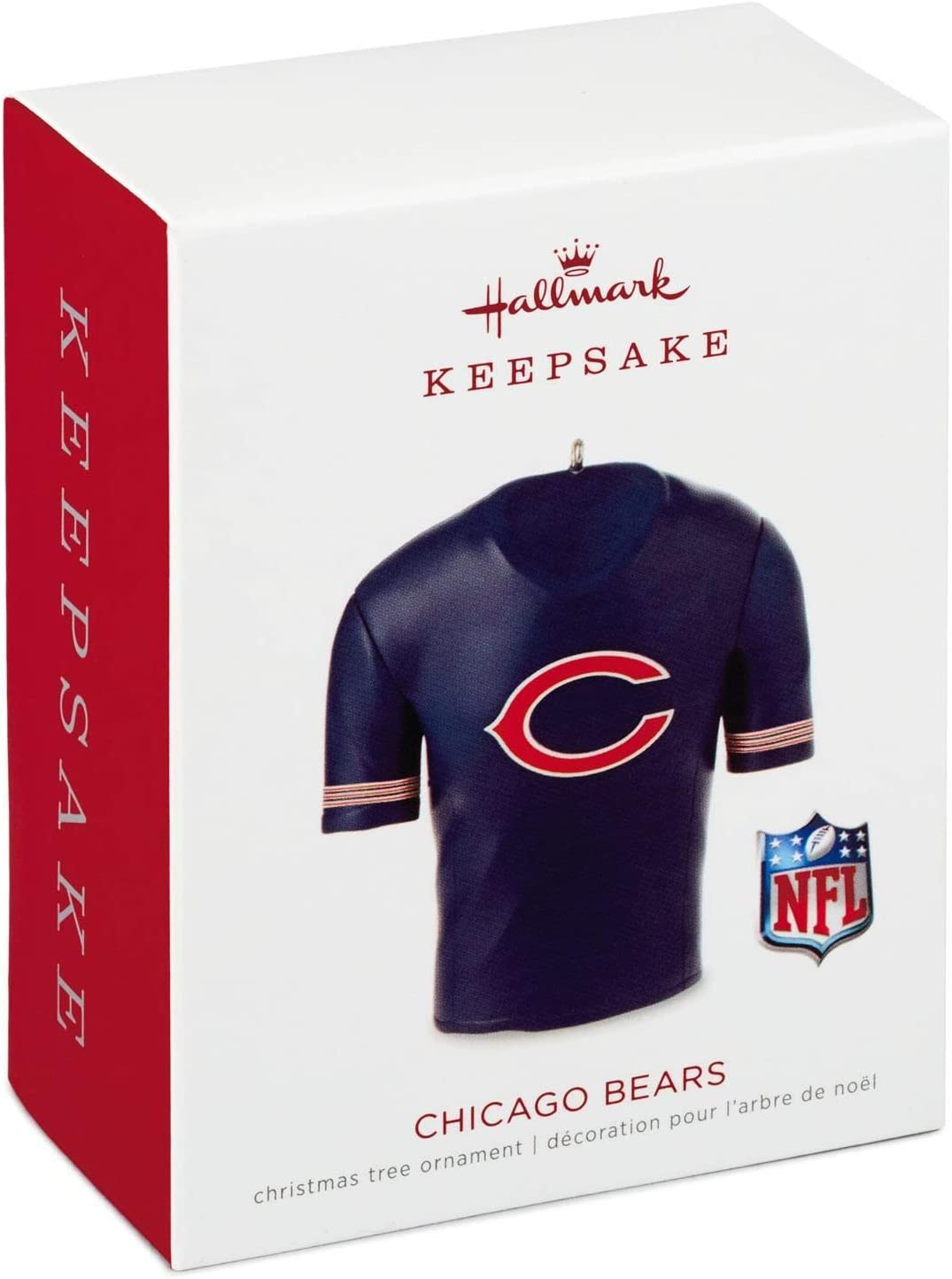 Chicago Cubs Jersey 2018 Hallmark Keepsake Christmas Ornament