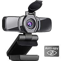 Deals on Dericam 1080P Webcam with Microphone USB Webcam W3
