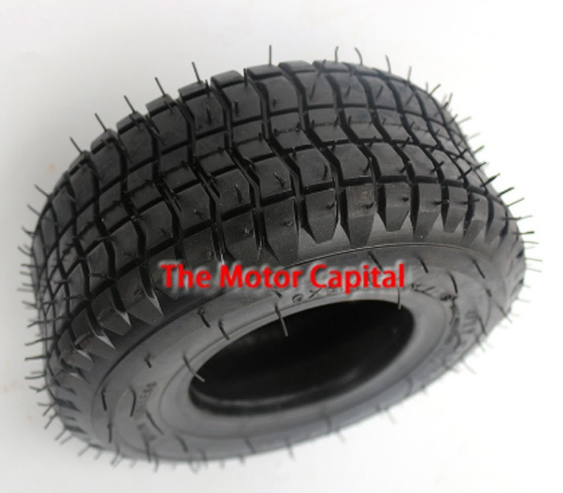 9x3.50-4 Tire for Pocket Bike Go Kart Mobility Scooter atv Zooma Mower GoPed Zooma 4 PLY RATING 85 P.S.I