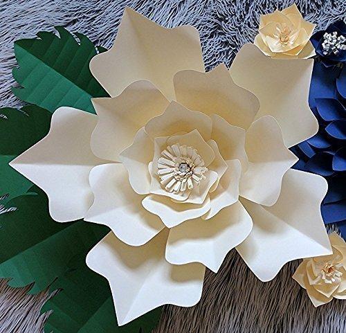 Amazon paper flower model lotus 18 diameter multiple paper flower model quotlotusquot 18quot diameter multiple mightylinksfo