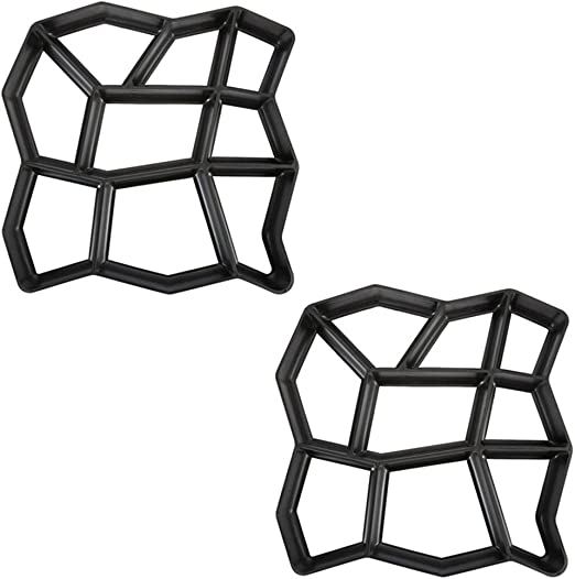 PFLASTERFORM Platte Form Knochenpflaster Schalungsform Rechteck