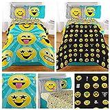Emoji Complete 5 Piece Girls Bedding Set - Full