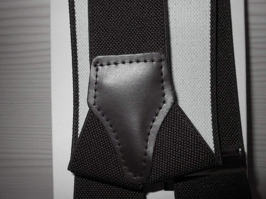 Bretelle Uomo LaDucale Made In Italy Taglia Unica Regolabile Ganci Garantiti 2 Anni Colori Vari