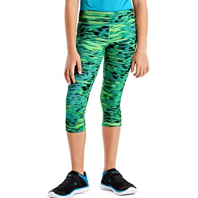 61754ad252482 Amazon.com: Hanes Sport Girls' Performance Capri Leggings: Clothing