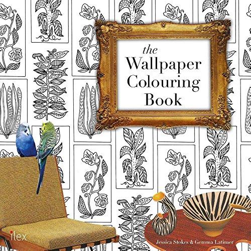 the wallpaper colouring book jessica stokes 9781781572429 amazoncom books - Coloring Book Wallpaper
