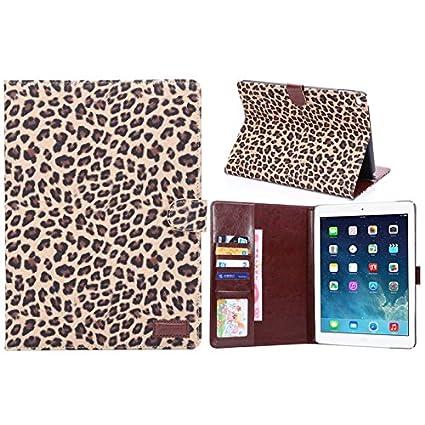 Amazon.com: Funda iPad Air 2 Case & Classic LEOPARDO Funda ...