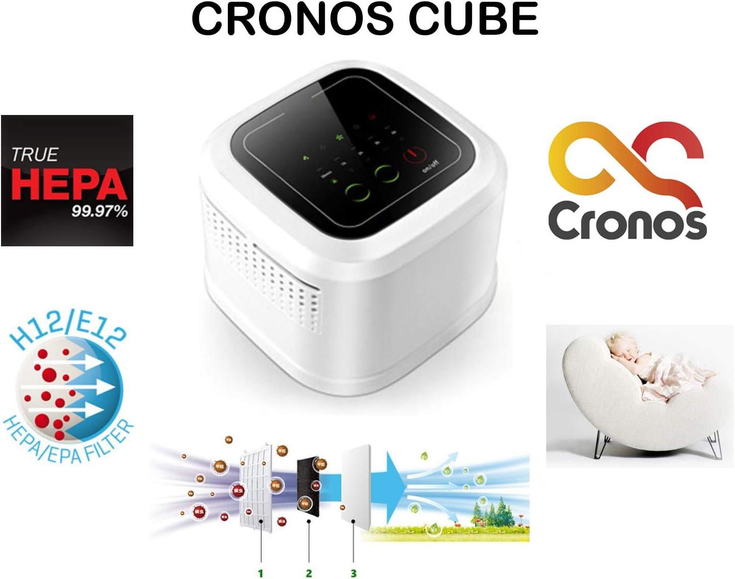 CroNOS Cube JP-09 - Purificador de Aire con Filtro Combinado HEPA ...