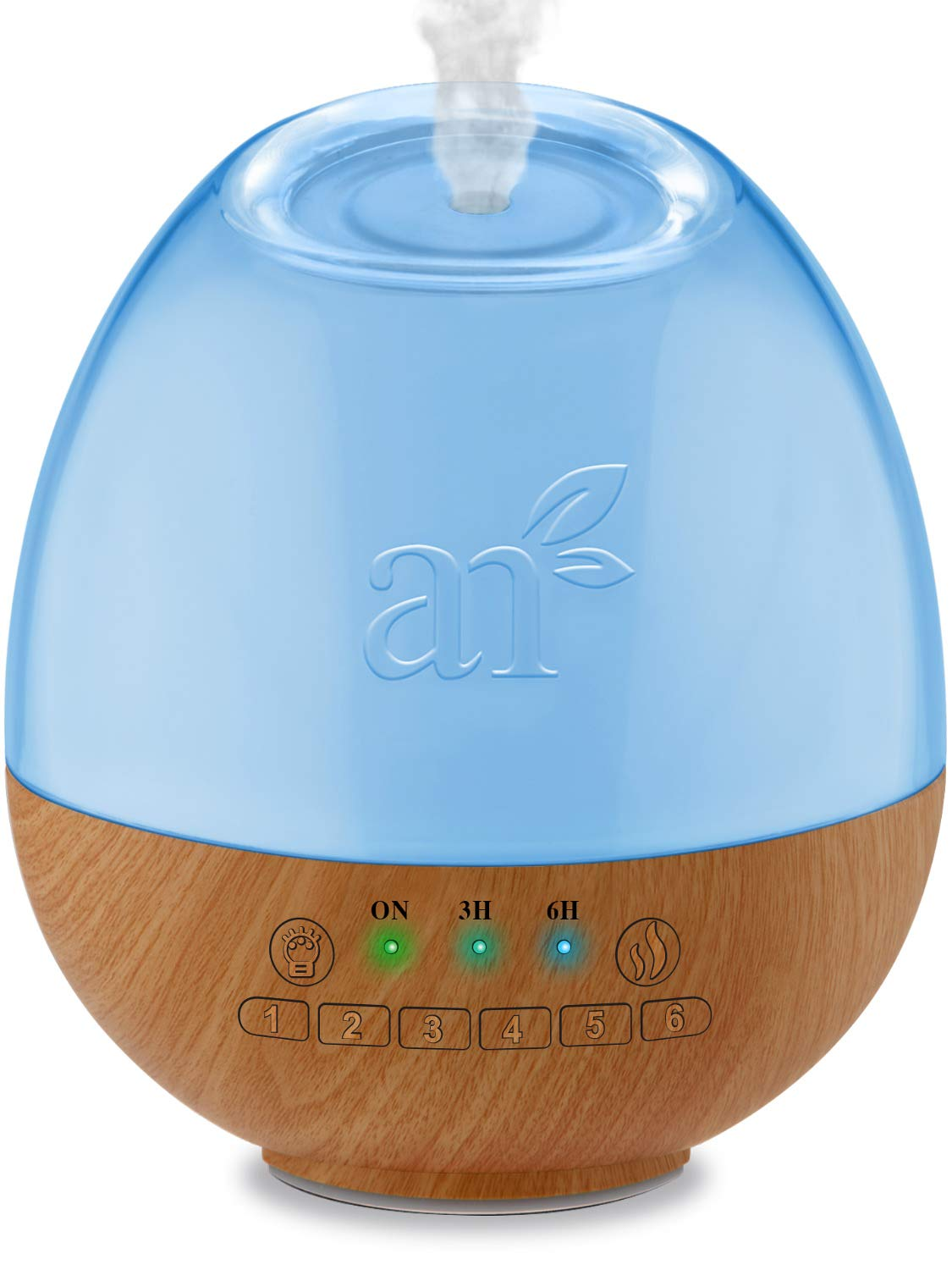 ArtNaturals Sound Machine & Essential Oil Diffuser - (300ml Tank) - 6 Calming and Natural Sleep Sounds - Aromatherapy and White Noise for Relaxation and Sleeping - Baby, Kids, and Adults - Night Light by ArtNaturals