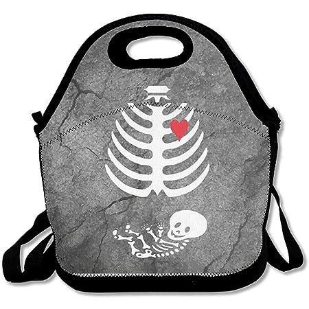 Bolso gourmet Disfraz de radiografía de esqueleto embarazada Bolso ...