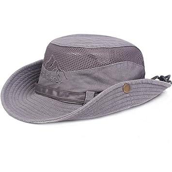 e9a1b53f4258 Obling Sombrero de Sol Unisex de ala Ancha Resistente al Viento con  Protección UV para Actividades al Aire Libre