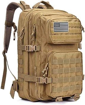G4Free 40L Mochila Táctica Militar Paquete de Asalto del Ejército Grande Bolso de Hombro Molle Mochilas Mochila para Senderismo al Aire Libre Camping Trekking Caza: Amazon.es: Deportes y aire libre