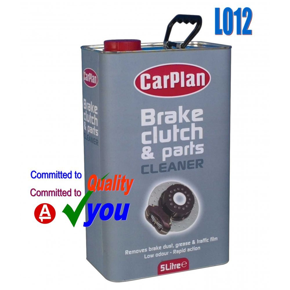 Brake And Parts Cleaner 5 Litre Degreaser Metal Tin CarPlan bpc050