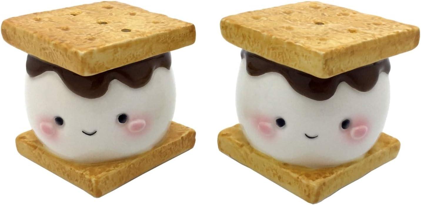 Marshmallow Smores ソルトアンドペッパーシェイカーセット セラミック